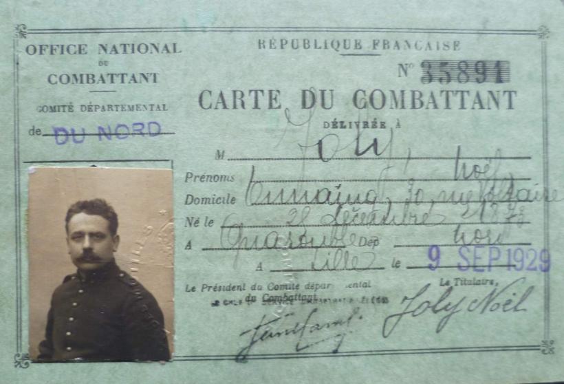 Biographie et parcours du soldat joly no l jules - Office departemental des anciens combattants ...
